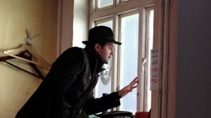Daniel Mays as Kidd in Patrick Marber's The Red Lion. National Theatre through 30 September. ©Catherine Ashmore